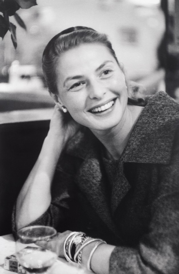 Ingrid Bergman, Paris 1957.